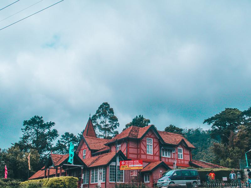 Old post Office in Nuwara Eliya