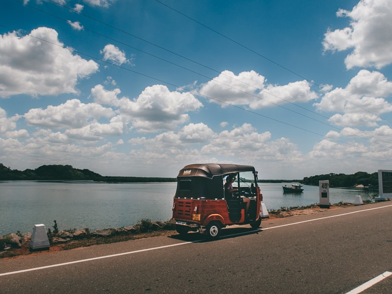 Getting to Wilpattu by tuk tuk