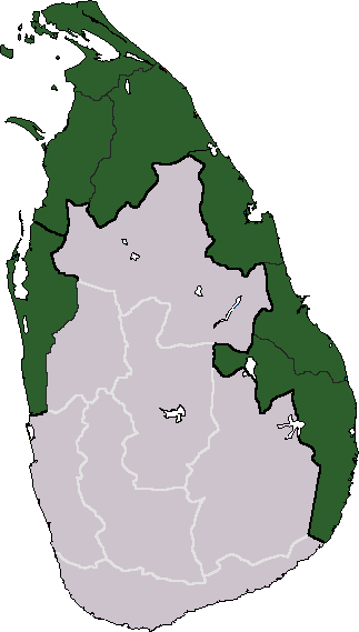 Tamil State desired area