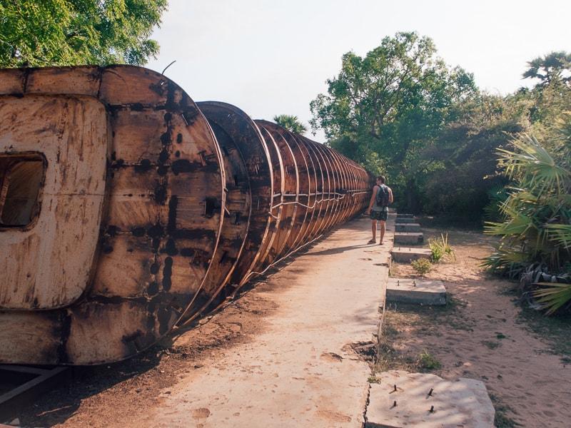 LTTE submarine base