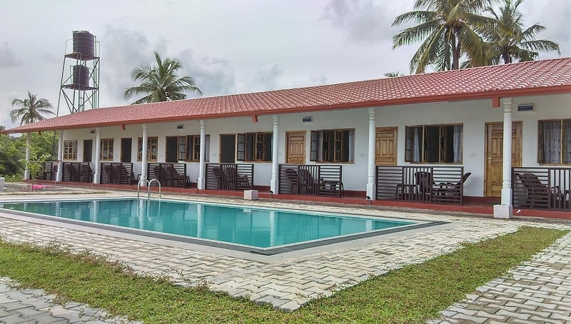 Shan Guest and Restaurant Nilaveli in Trincomalee