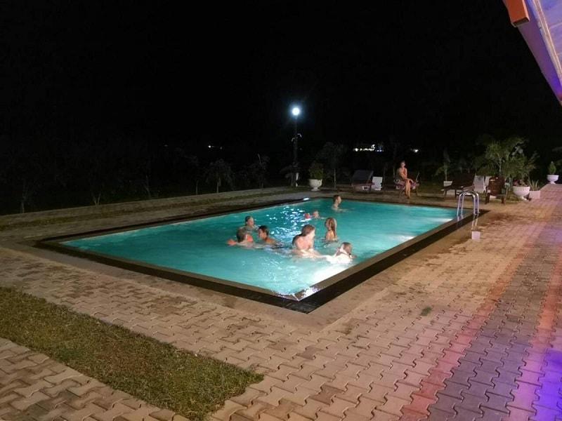 Pool at Shan Guest and Restaurant Nilaveli