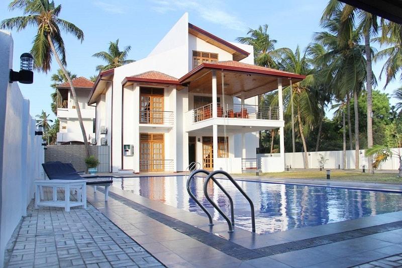 Bluewater Beach Resort in Trincomalee