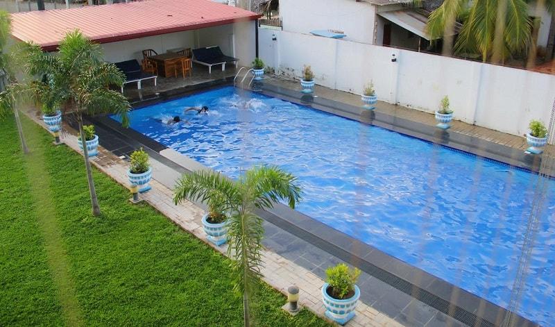 Pool at Bluewater Beach Resort