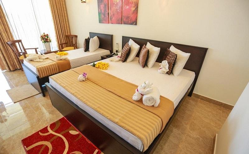 Rooms at JKAB Beach Resort
