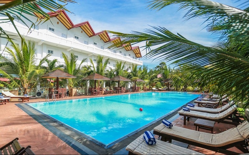pool at JKAB Beach Resort