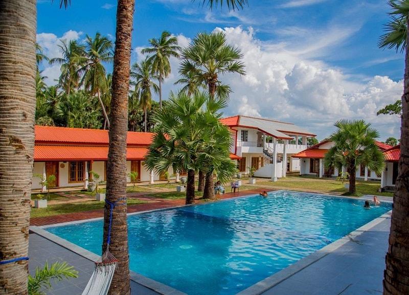 pool at Palmera Eco Resorts Nilaveli