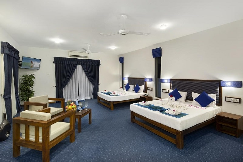 Rooms at Blue Wave Hotel