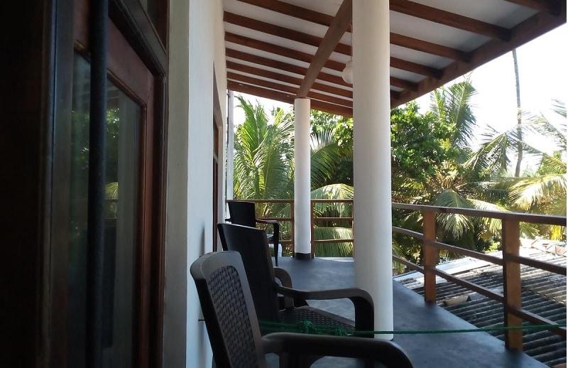 Balcony at Sunstyle Mirissa