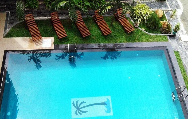 Pool at Randiya Sea View Hotel 5 Star