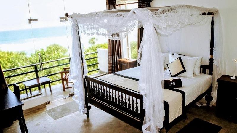 Rooms at Mirissa Gate Hotel