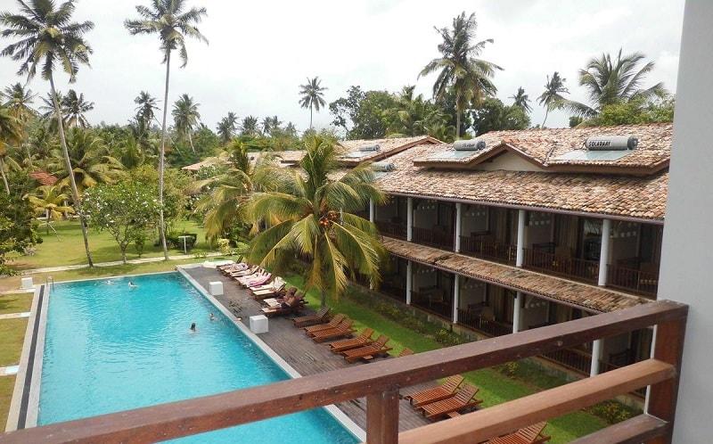 Paradise Beach Club Hotel in Mirissa
