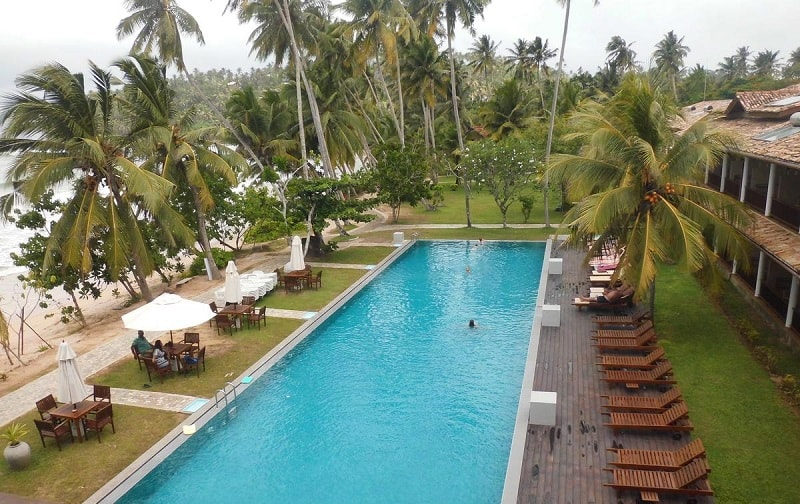 Pool at Paradise Beach Club Hotel