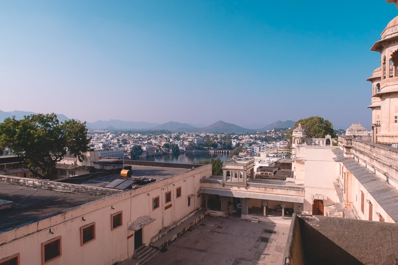 view from city palace