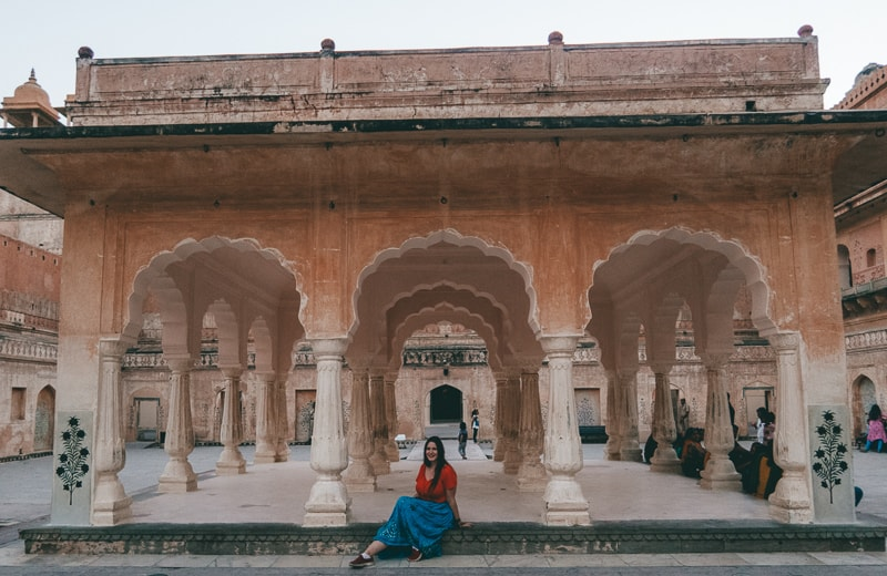 cazzy at amer fort