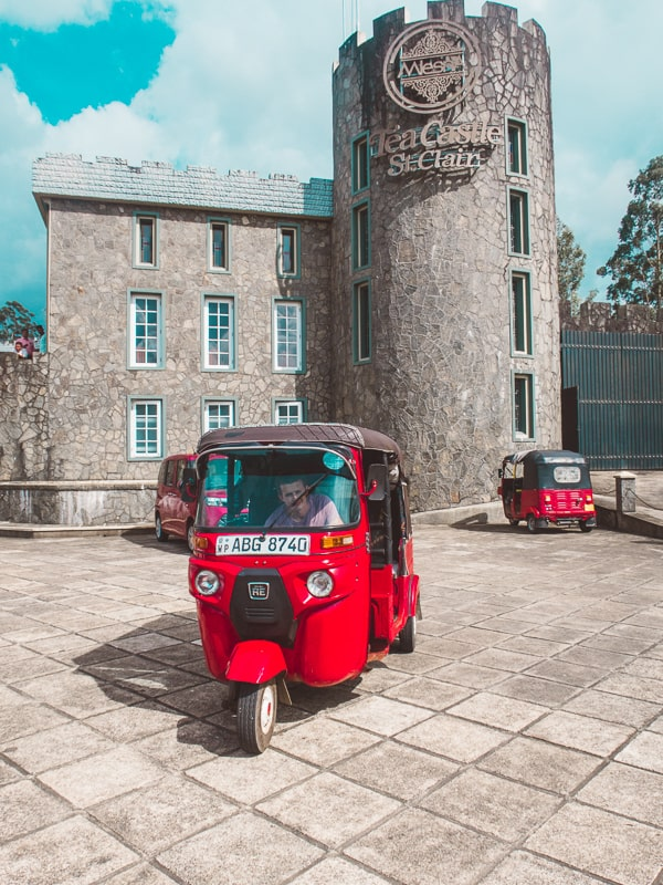 our tuk tuk rental in tea castle