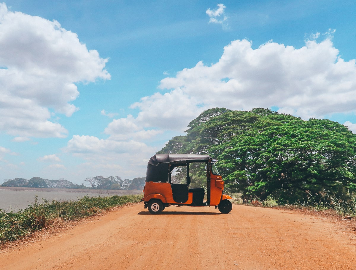 Our tuk tuk rental in Sri Lanka