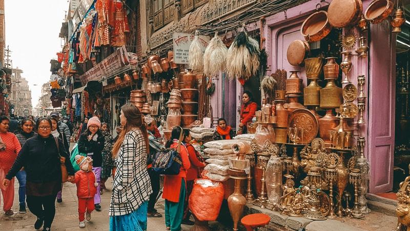 thamel markets kathmandu