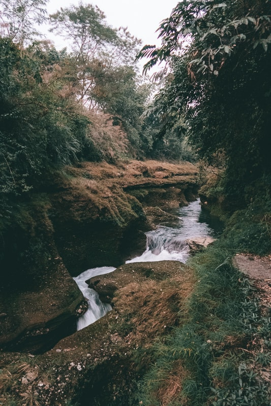 davis falls nepal