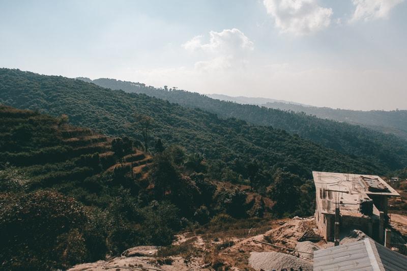 beautiful views in nagarkot