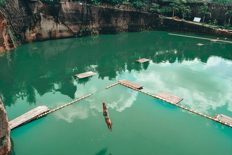 brad jumping in chiang mai