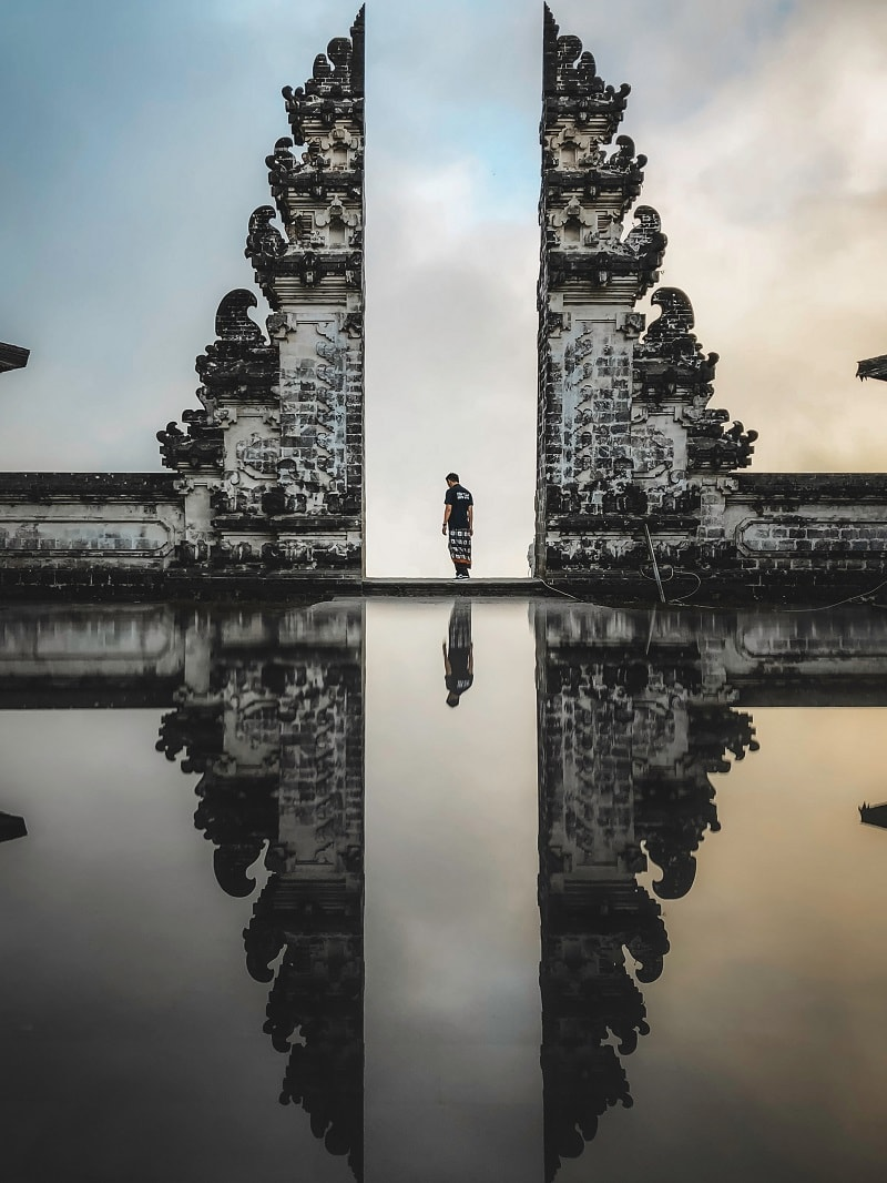 the gates of heaven bali
