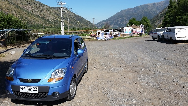 renting and driving a car in south america