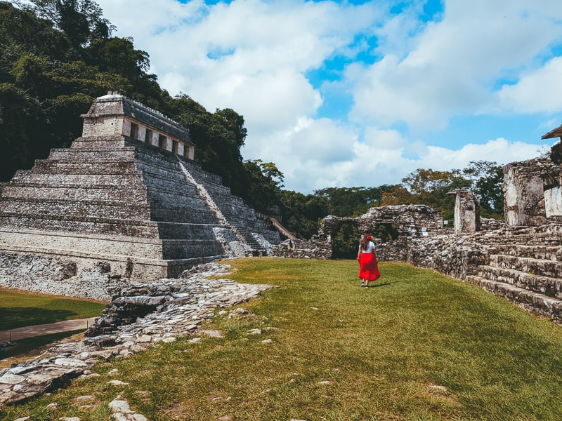 explore the palenque ruins