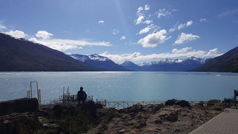 bay in los glaciares national park