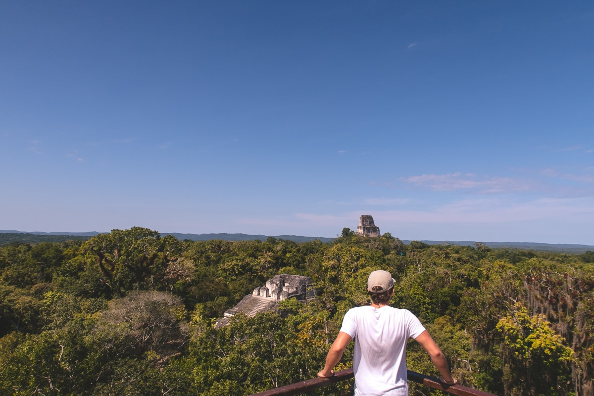 Tikal Mayan ruins Guatemala
