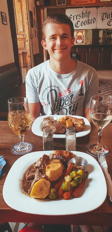 food at the londoner