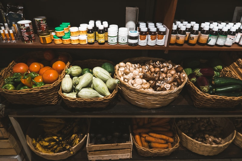 organic shop at cinco hotel