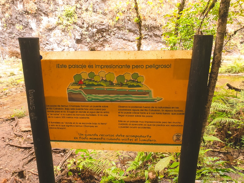How Semuc Champey was formed