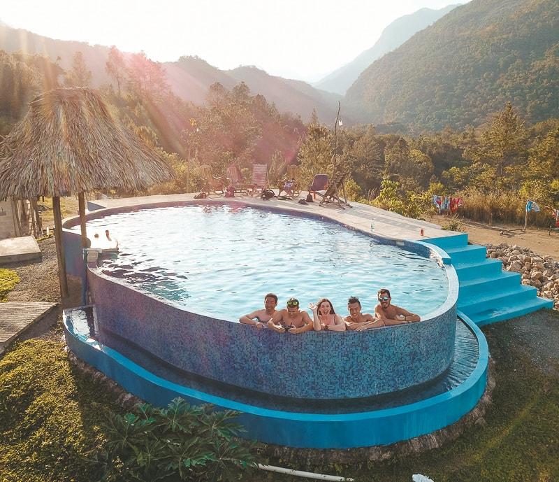 swimming pool at vista verde