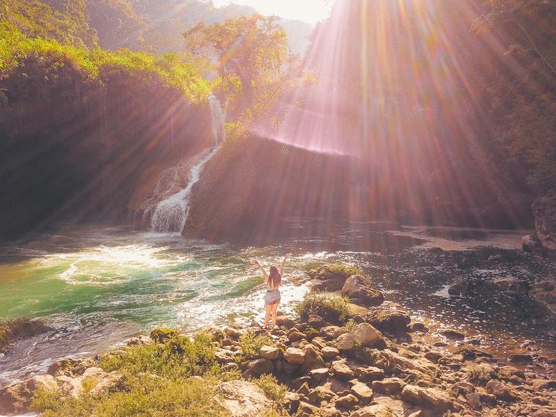 semuc champey waterfall