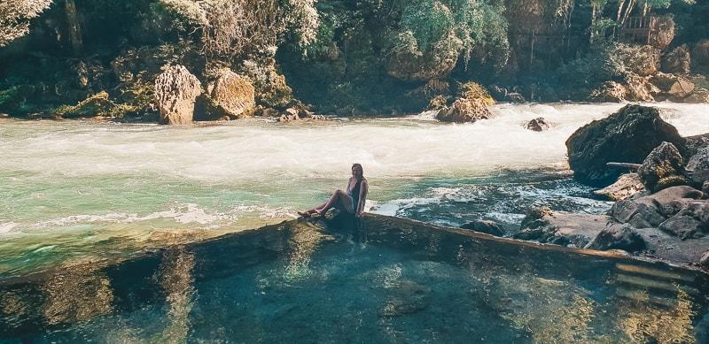 natural pool at semuc champey