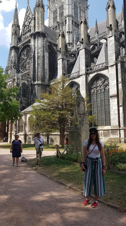 rouen gothic church