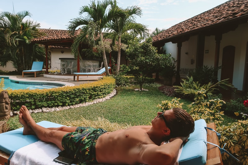 sun loungers hotel adela