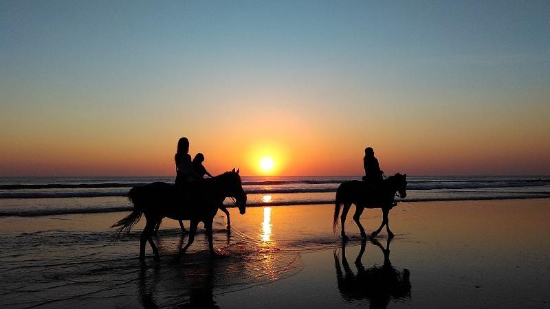 horse ridng in san juan del sur