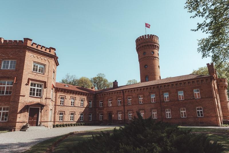 raudone castle