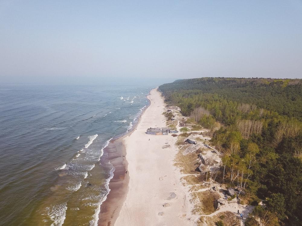beaches in lithuainia