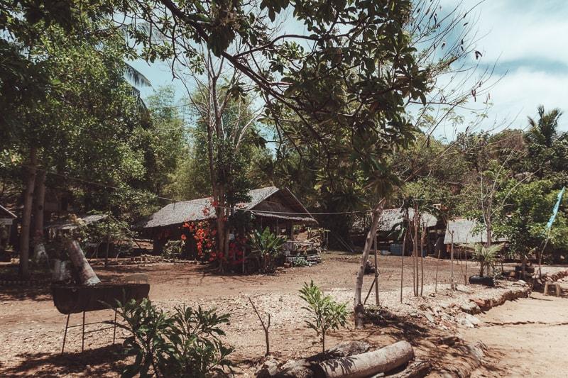 bali beach huts
