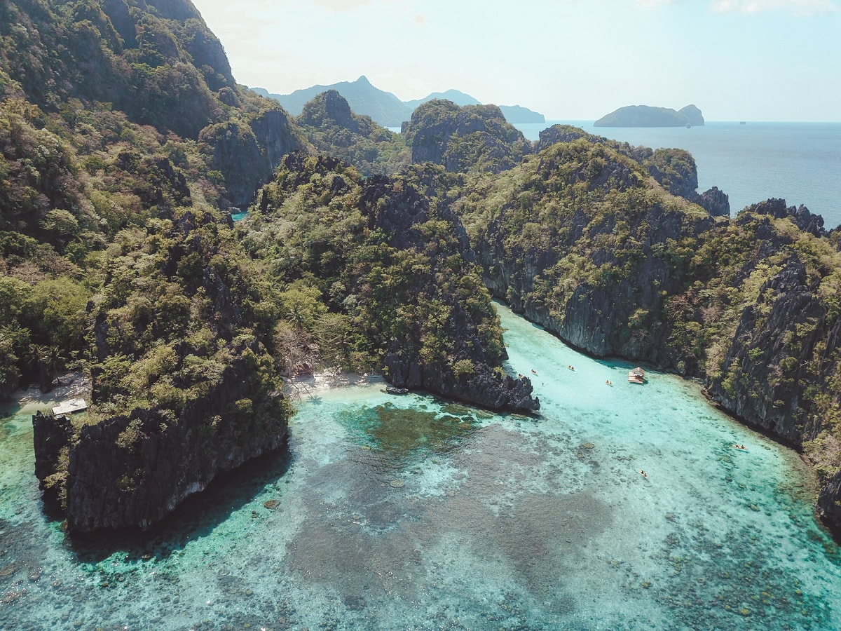 island hping eel nido