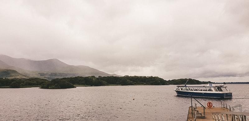 rent a boat on killarney lake