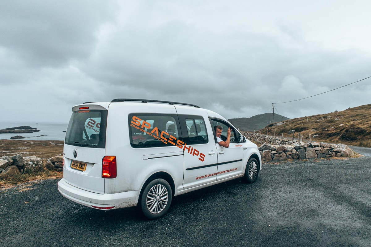our Ireland campervan rental