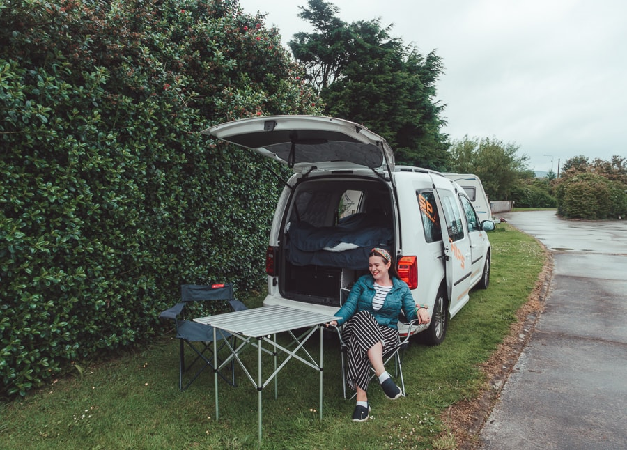seating campervan