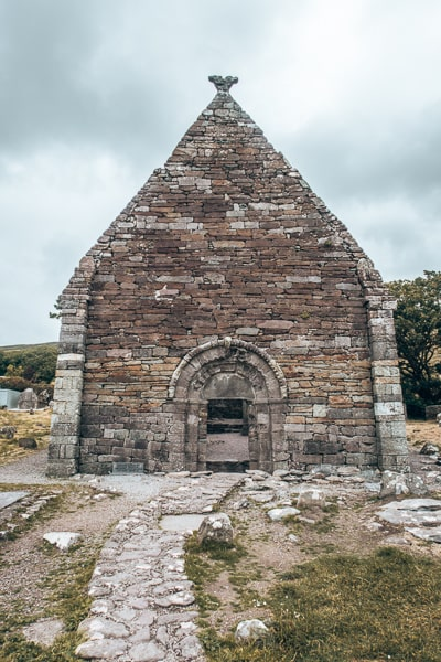 ruins in dingle
