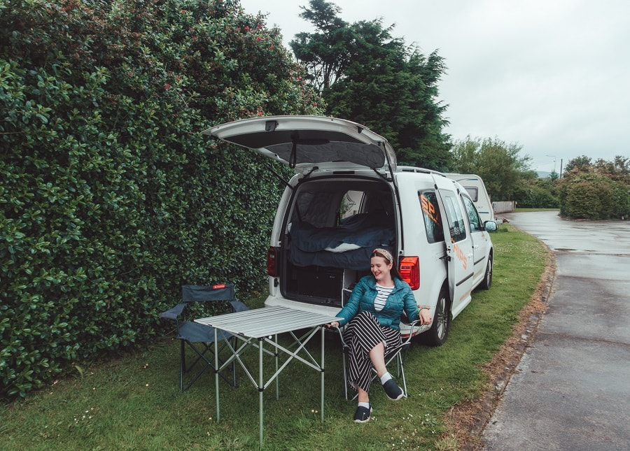 seating with campervan