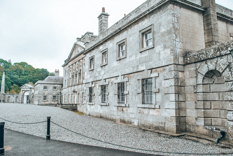 powerscourt house and gardeens