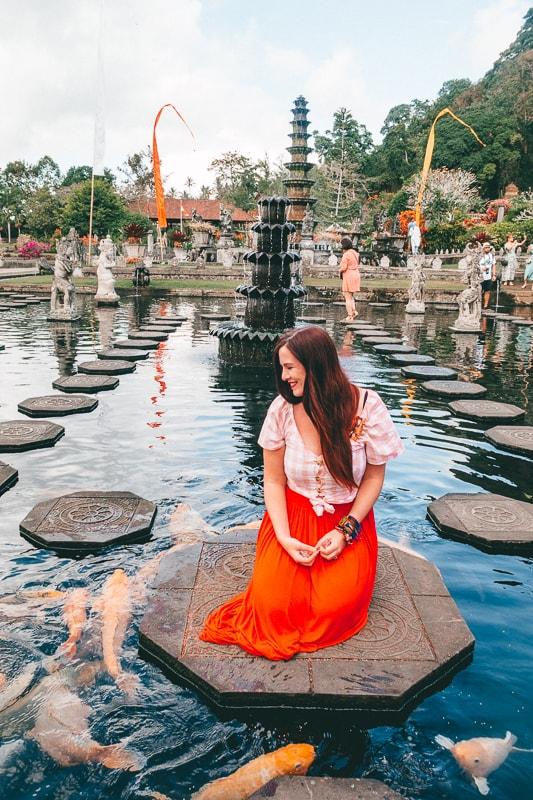 fish temple bali
